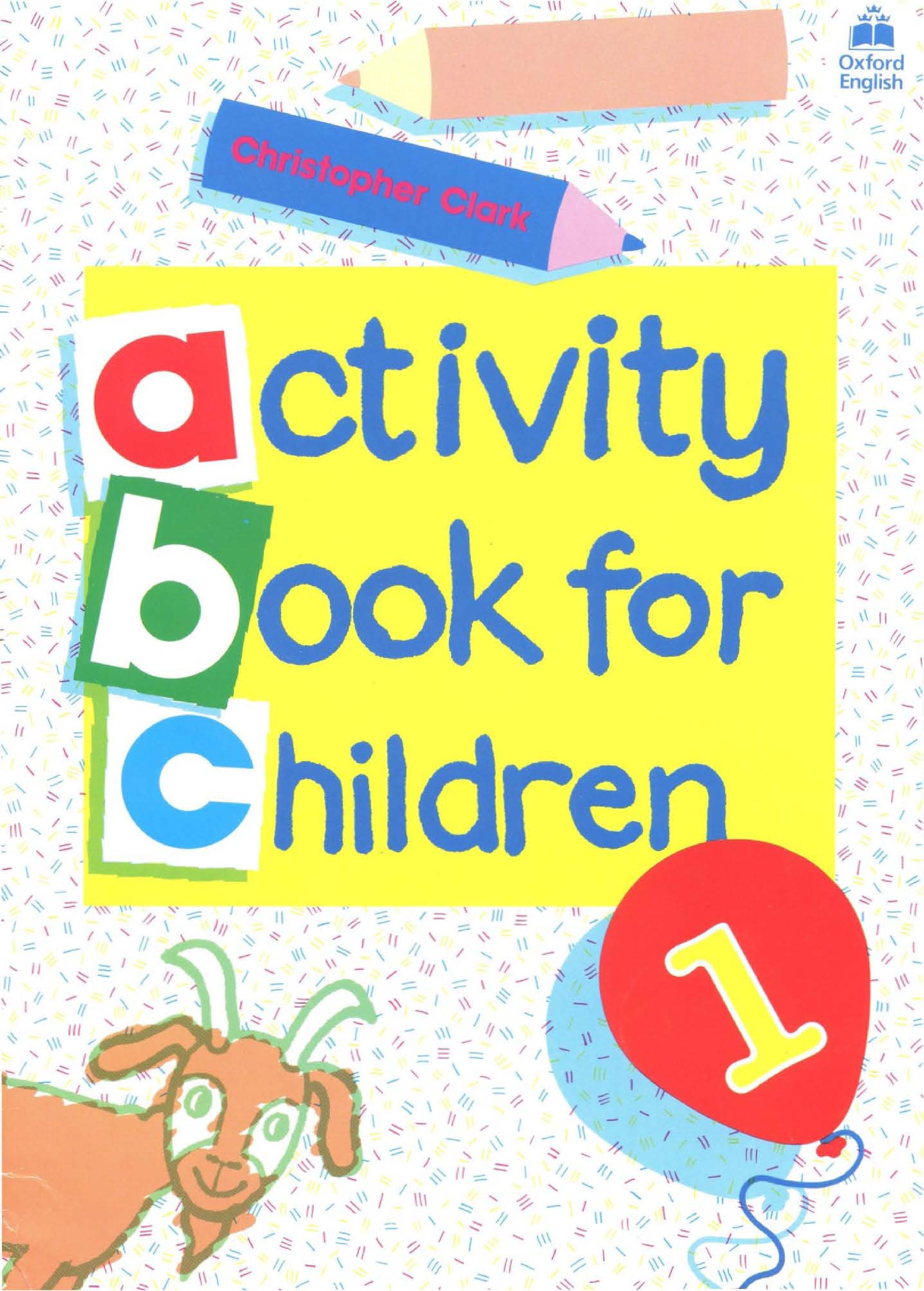 كتاب Oxford Activity Book Children
