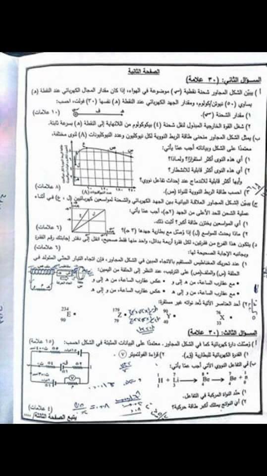 التوجيهي:الامتحان