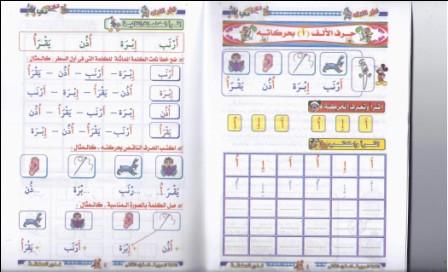 مذكرة وتمارين لمادة اللغة العربية